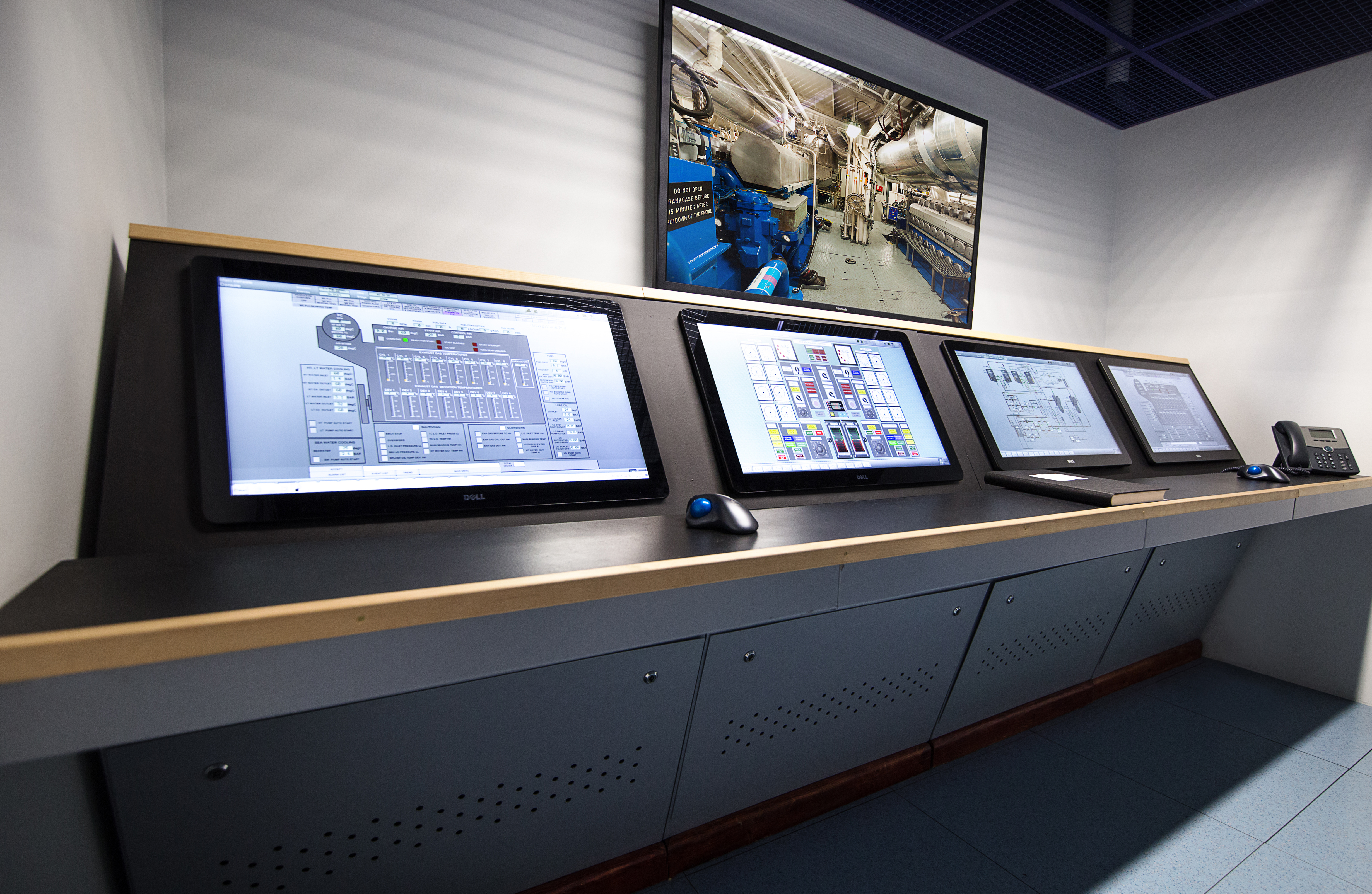 Engine Control Room Simulator